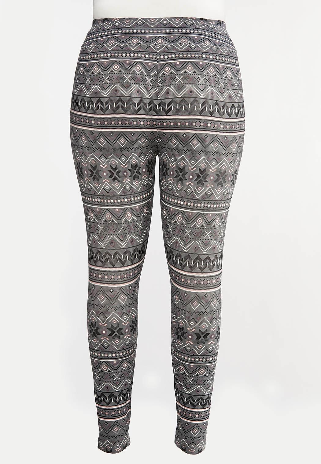 Plus Size Snow Day Leggings (Item #44057608)