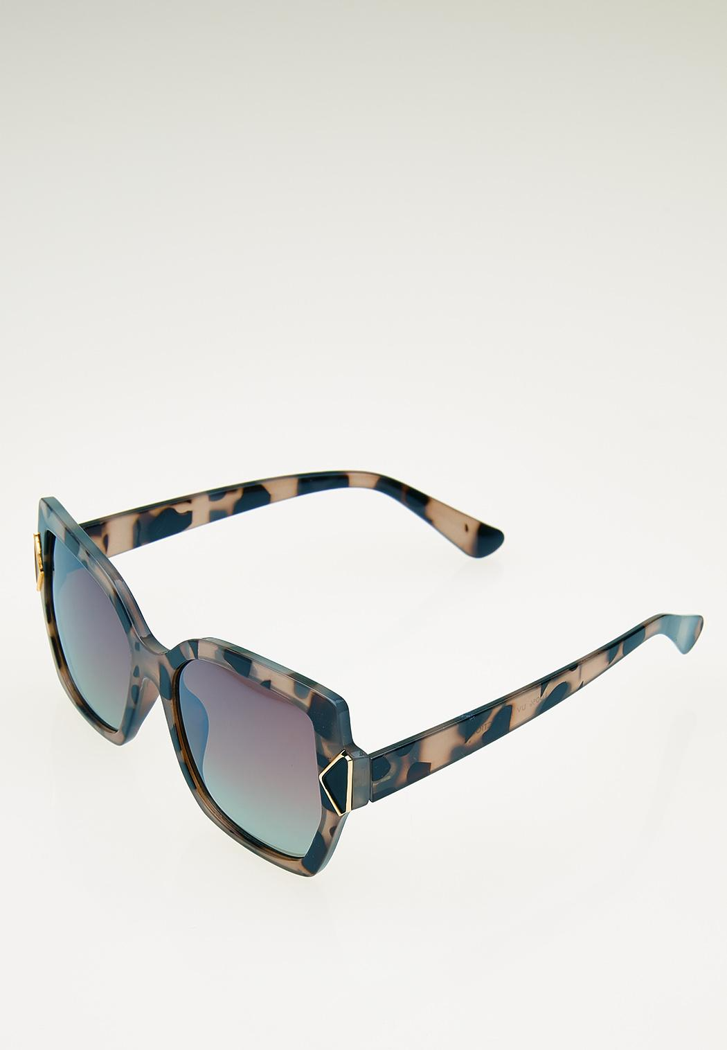 Tortoise Statement Sunglasses (Item #44057822)