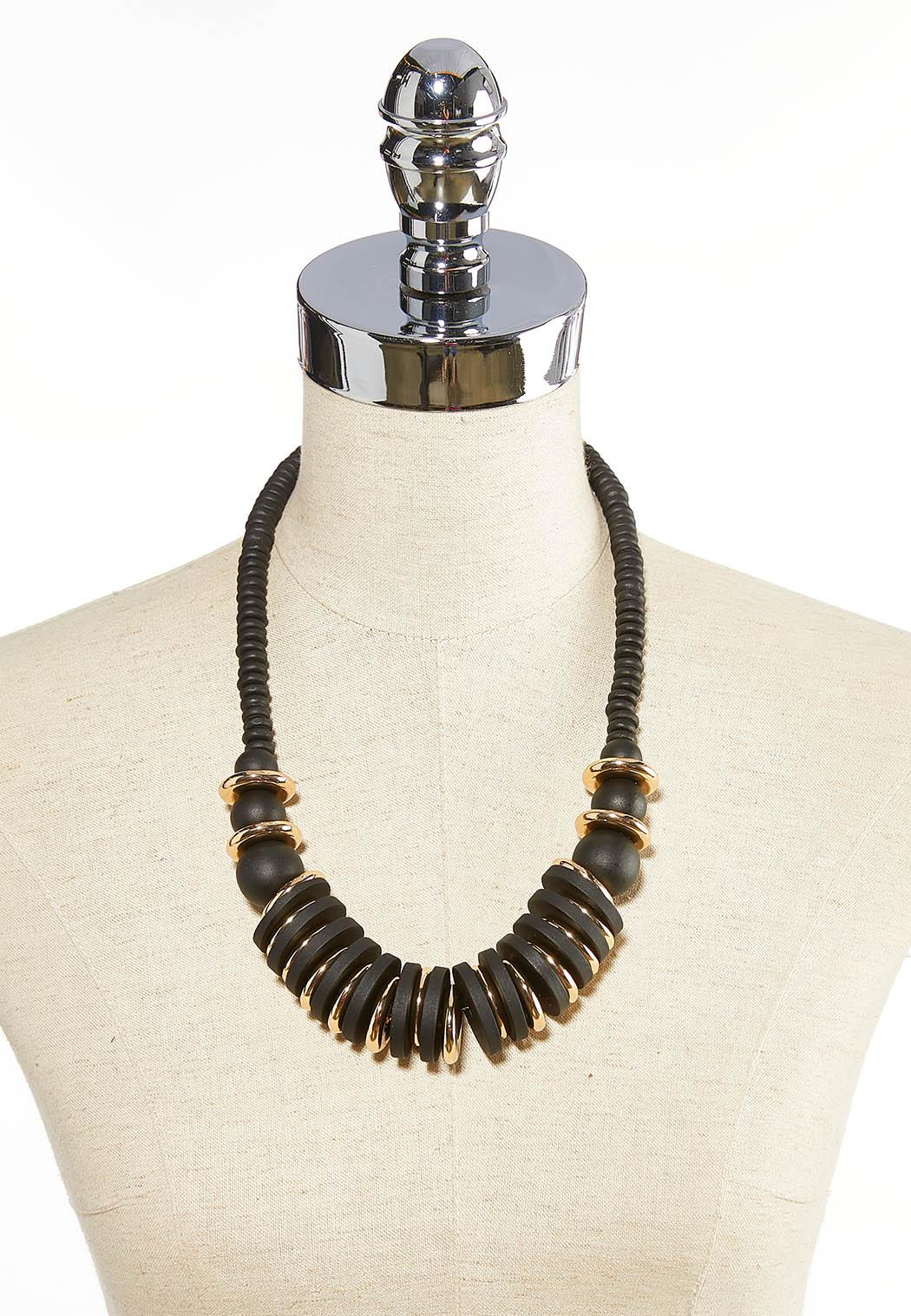 Button And Bead Necklace (Item #44058611)