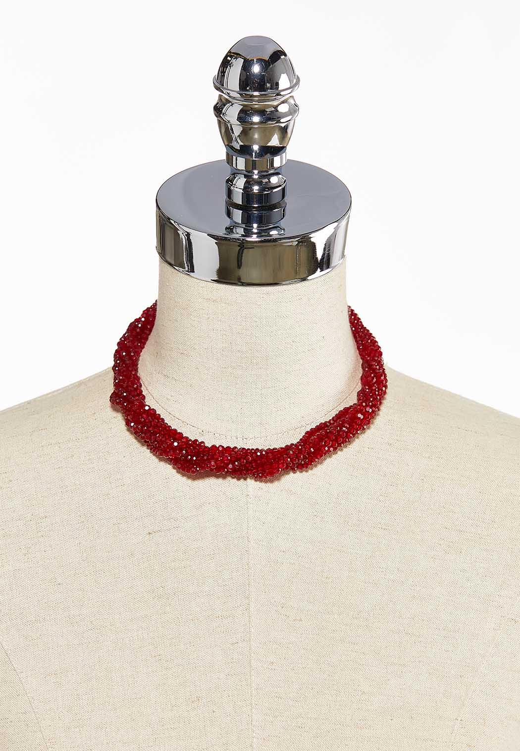 Multi Rondelle Bead Necklace (Item #44058677)