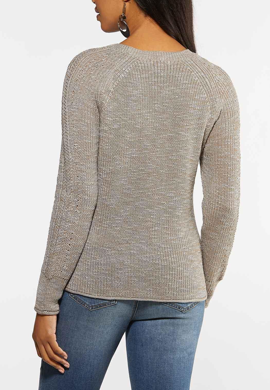 Brown Button Sweater (Item #44066191)