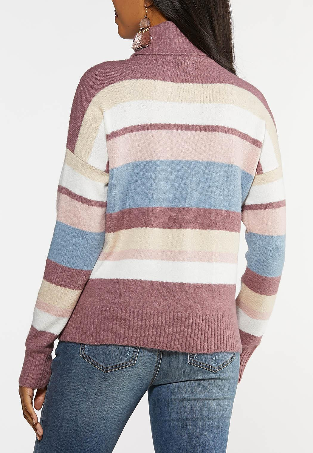 Colorblock Turtleneck Sweater (Item #44067150)