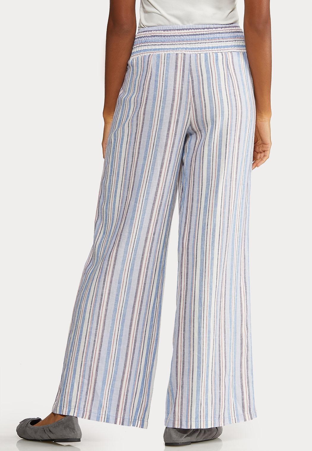 Blue Linen Pants (Item #44067213)