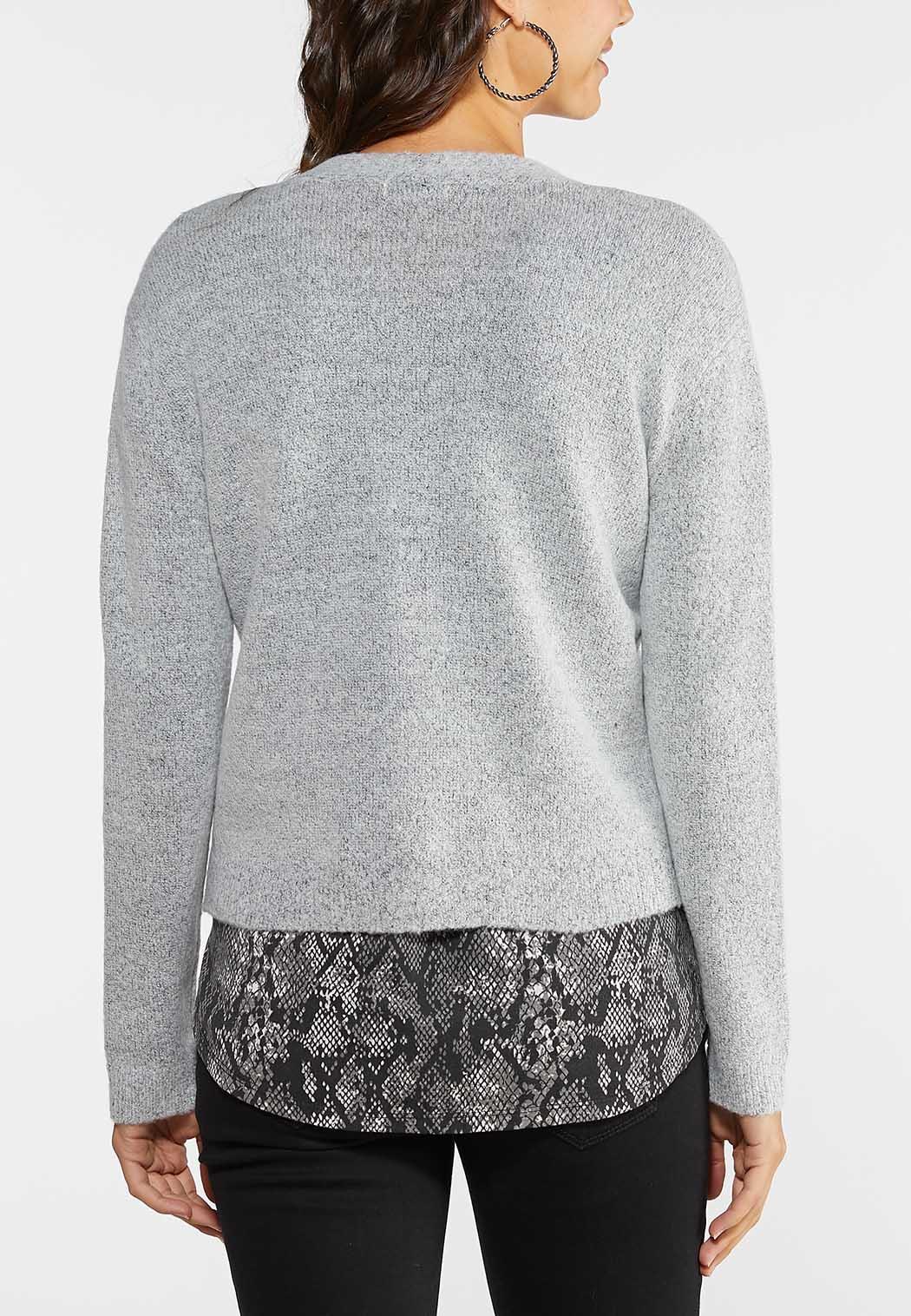 Plus Size Skimmer Cardigan Sweater (Item #44067352)