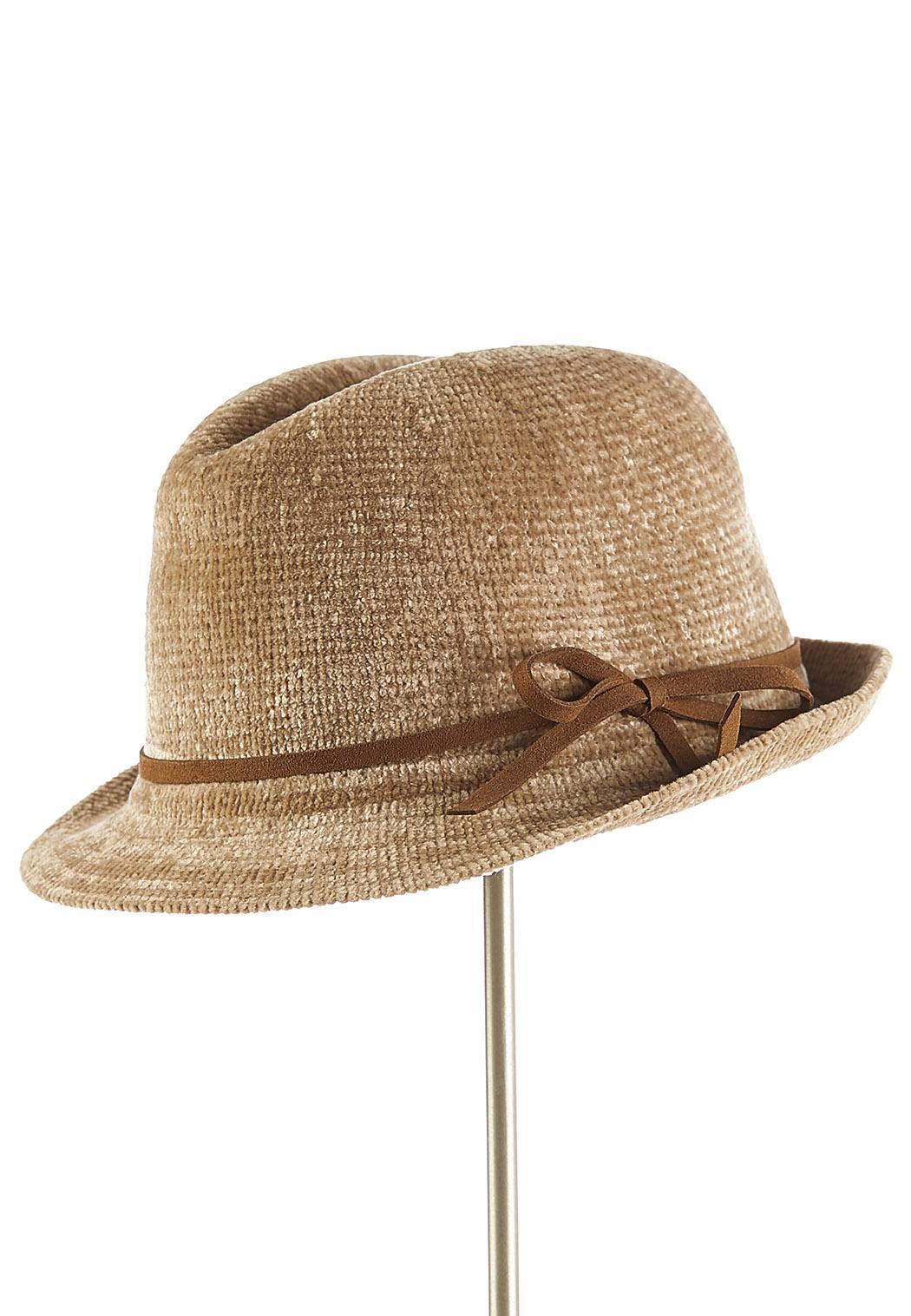 Chenille Fedora Hat (Item #44068009)