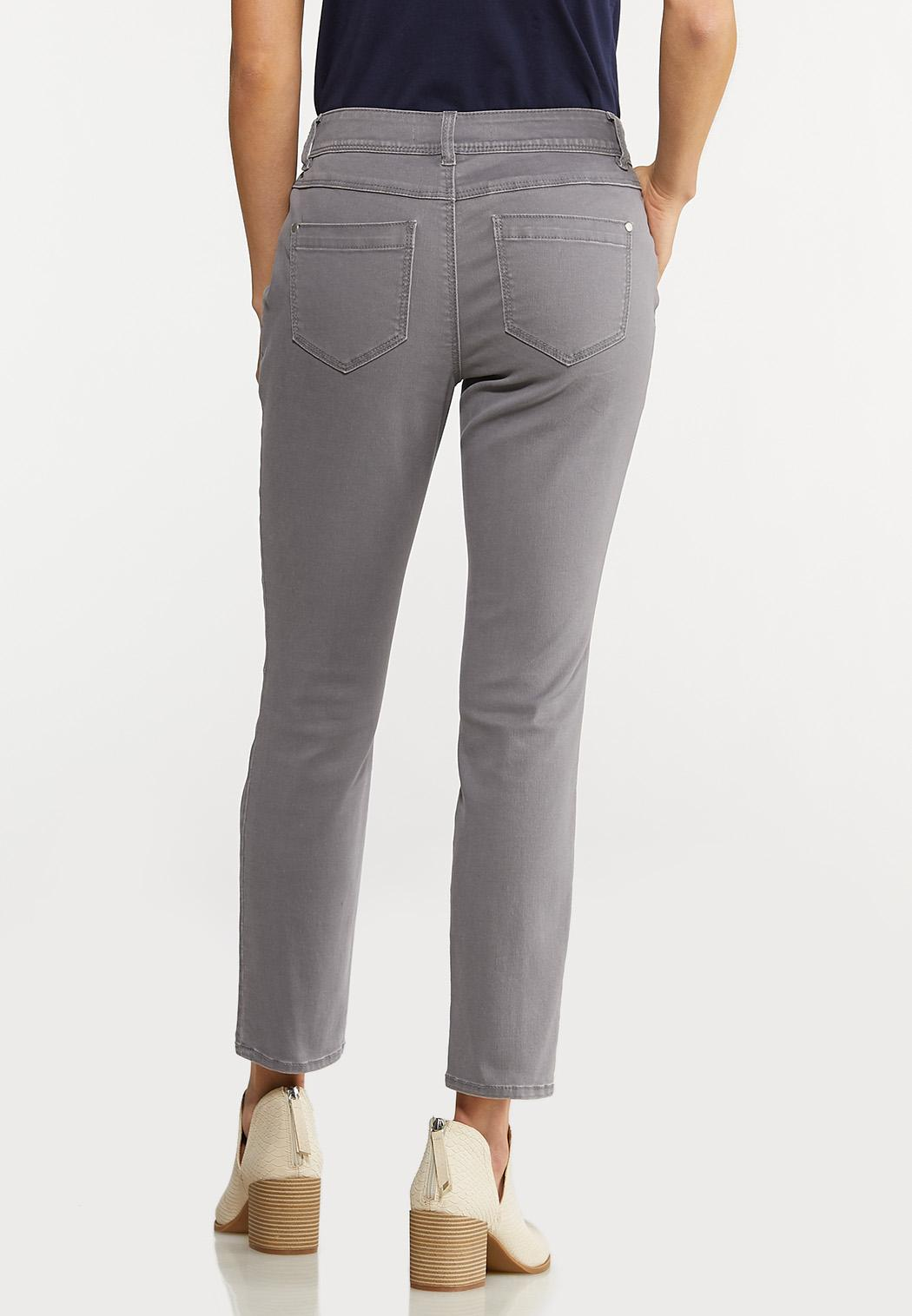 Gray Ankle Pants (Item #44068295)
