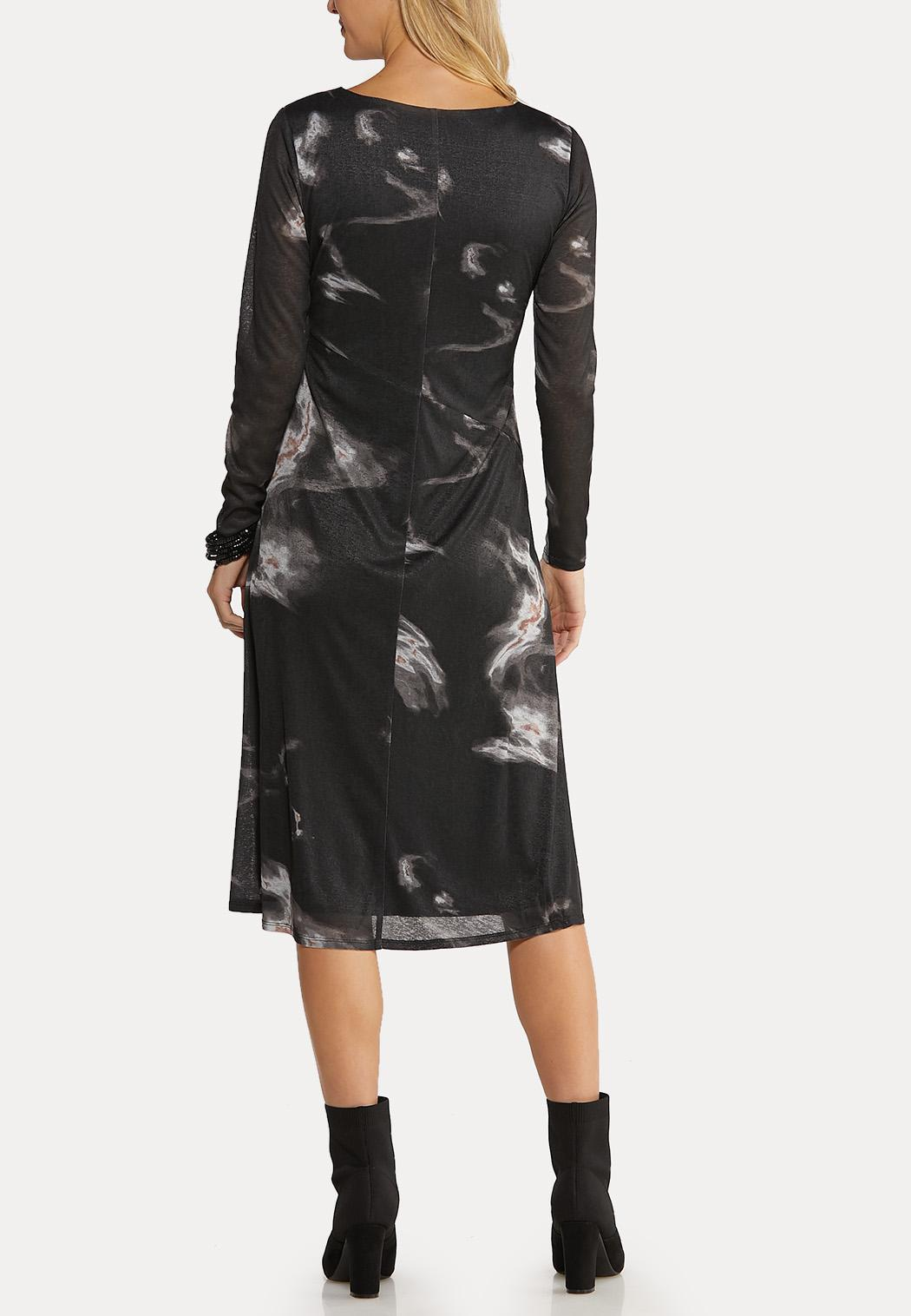 Marbled Midi Dress (Item #44070470)