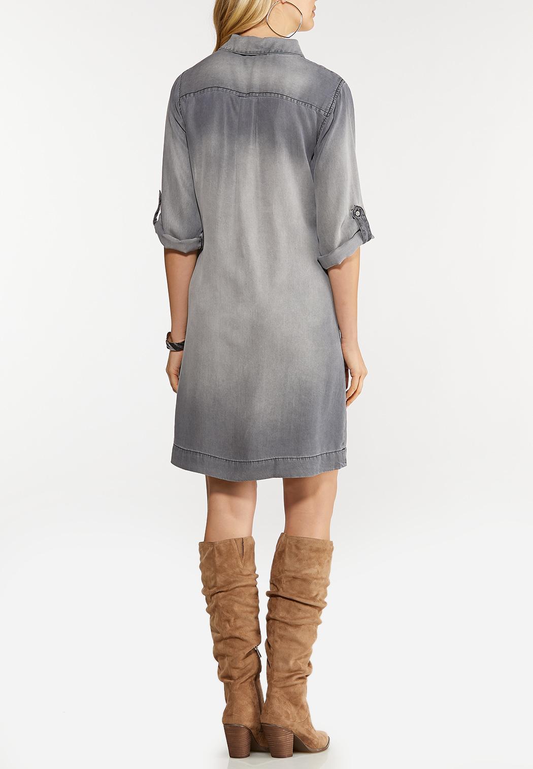 Pocket Shirt Dress (Item #44070568)