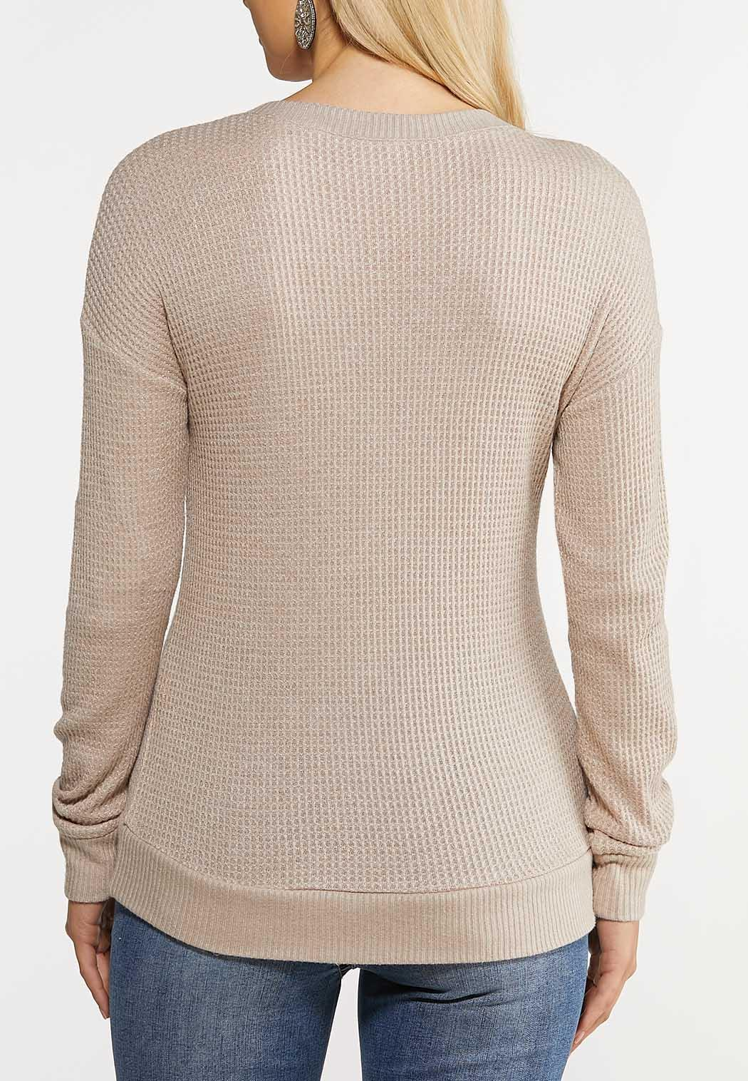 Lace Up Thermal Top (Item #44070716)