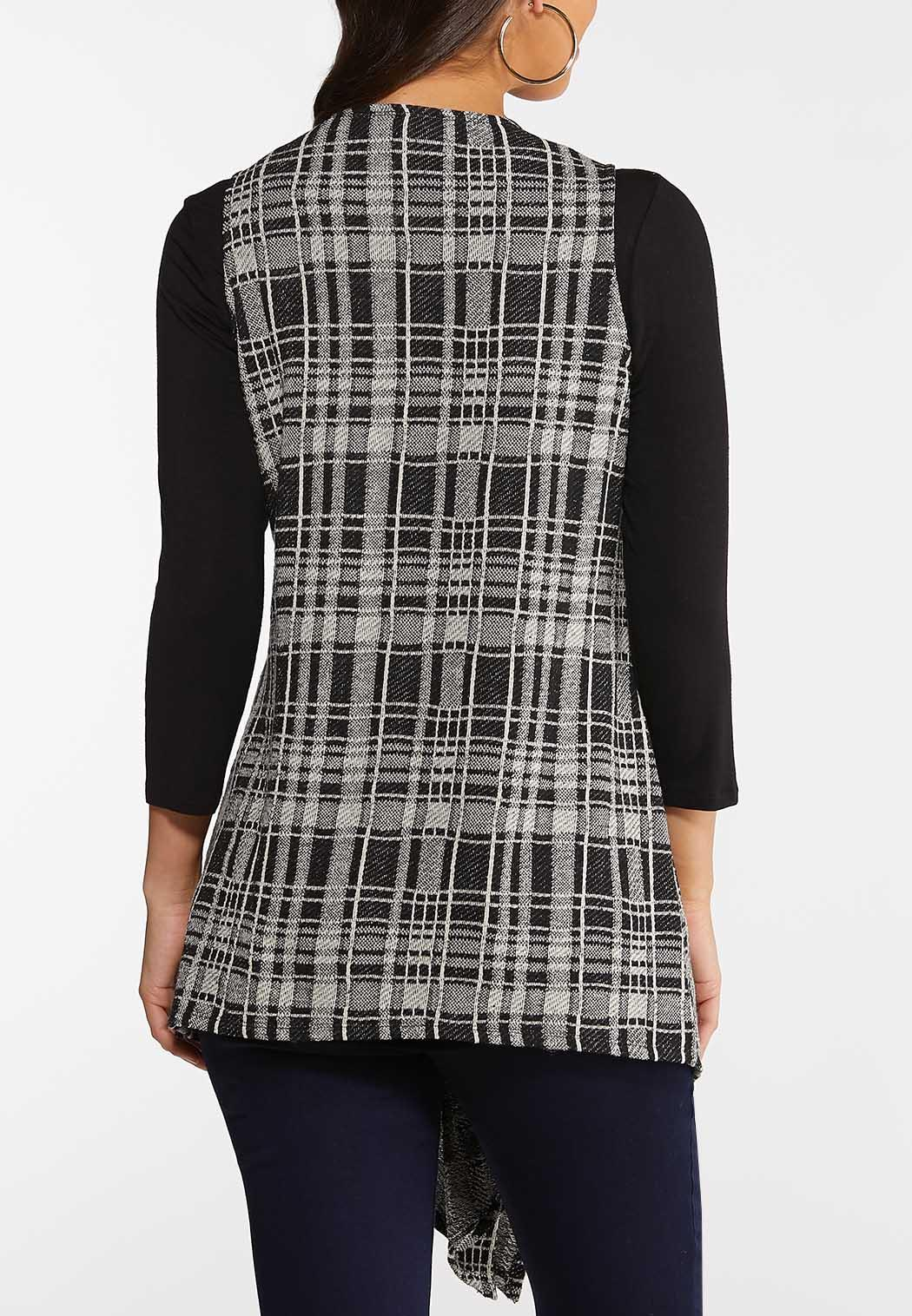 Plaid Hacci Vest (Item #44070782)