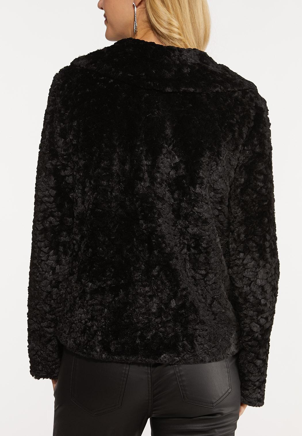 Black Fur Jacket (Item #44070843)