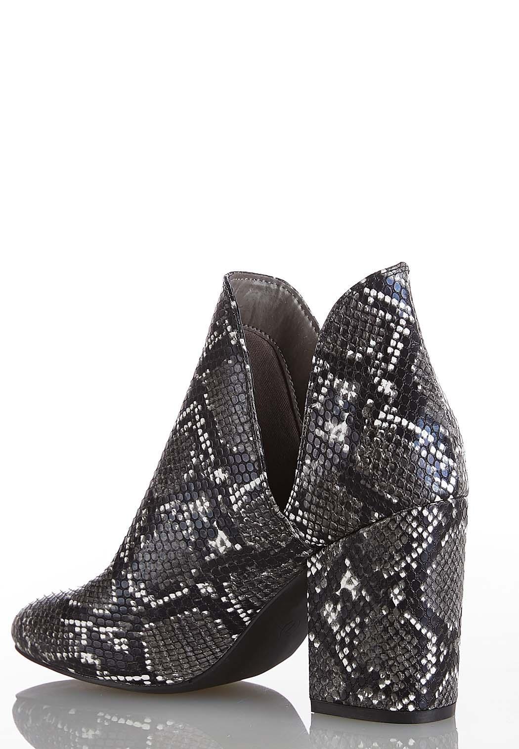 Wide Width Snakeskin Dipside Boots (Item #44073355)