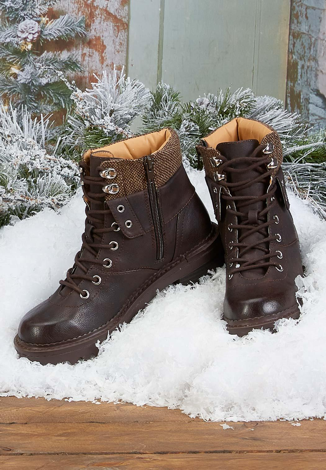 Chunky Sole Hiker Boots (Item #44074919)