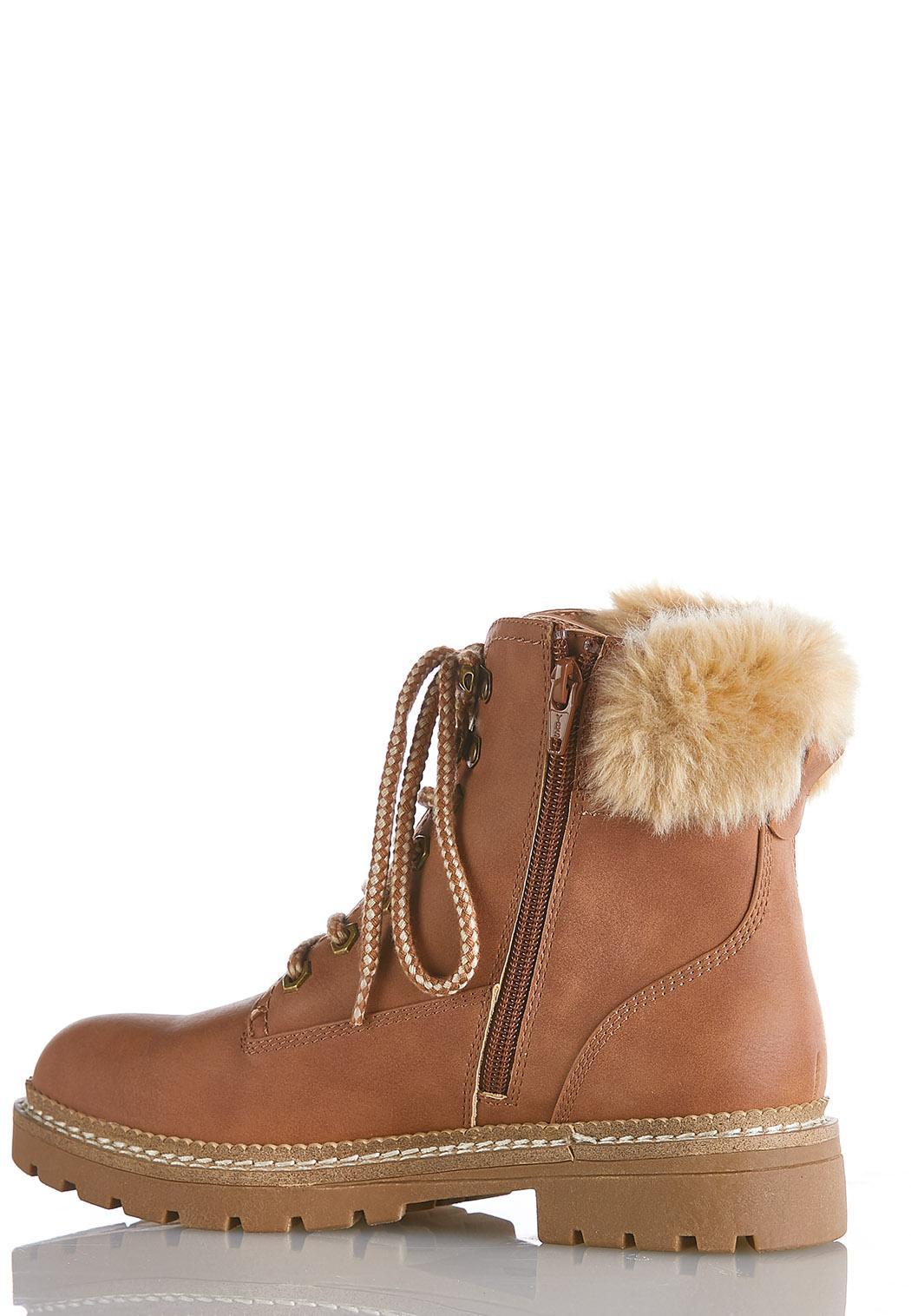 Wide Width Fur Cuff Hiker Boot (Item #44075194)