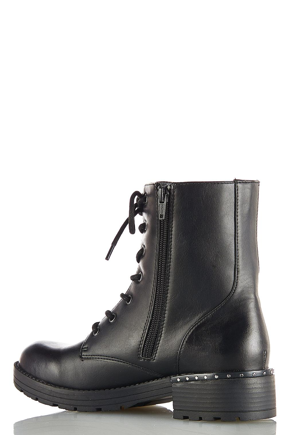 Lace Up Lug Boots (Item #44075324)