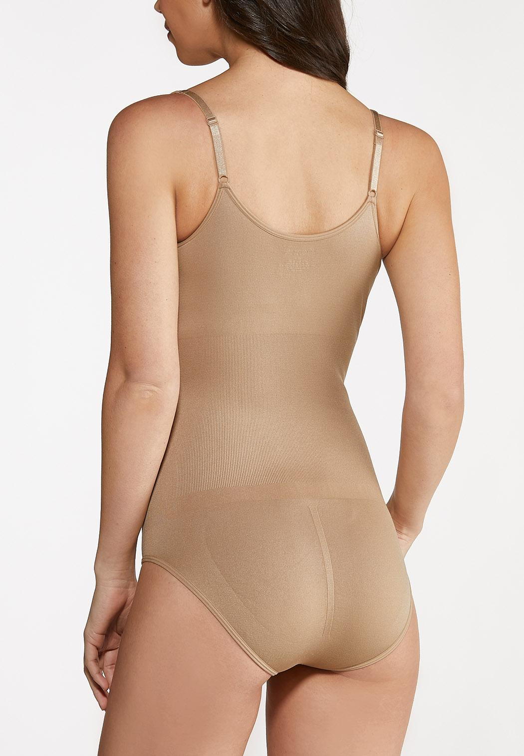 Plus Size Seamless Bodysuit (Item #44075412)