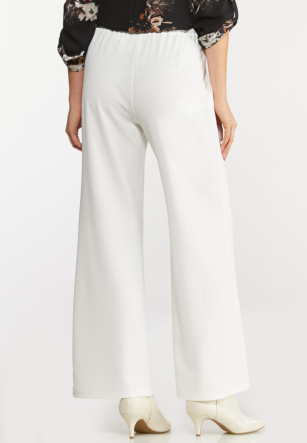 Side Button Wide Leg Pants (Item #44076852)