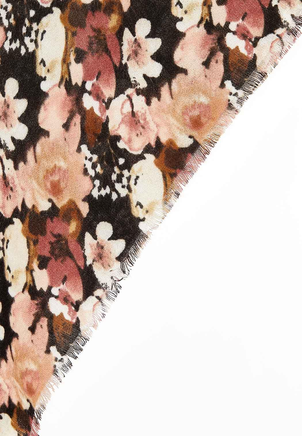 Large Blooms Triangle Scarf (Item #44077801)
