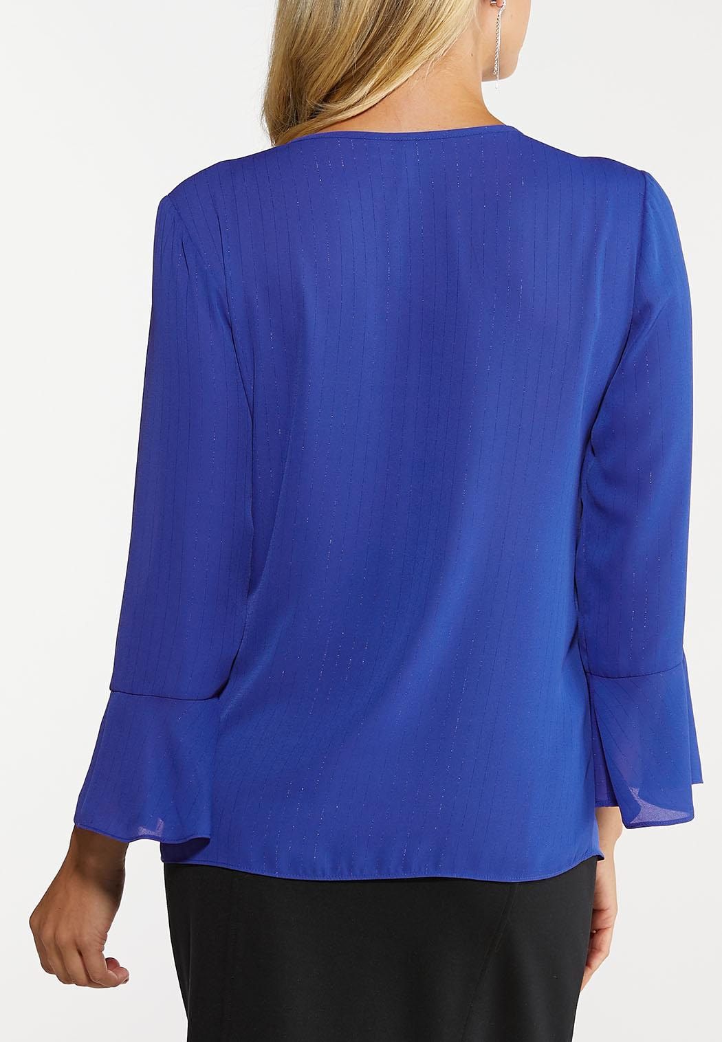 Plus Size Royal Ruffled Top (Item #44078872)