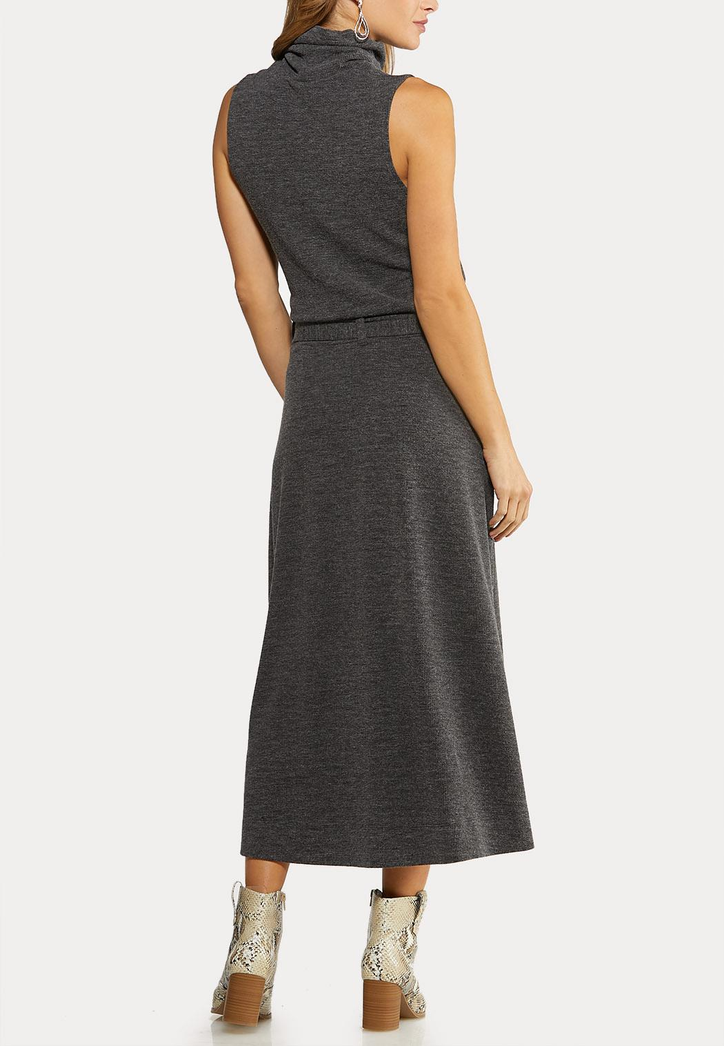 Mock Neck Skirt Set (Item #44079096)