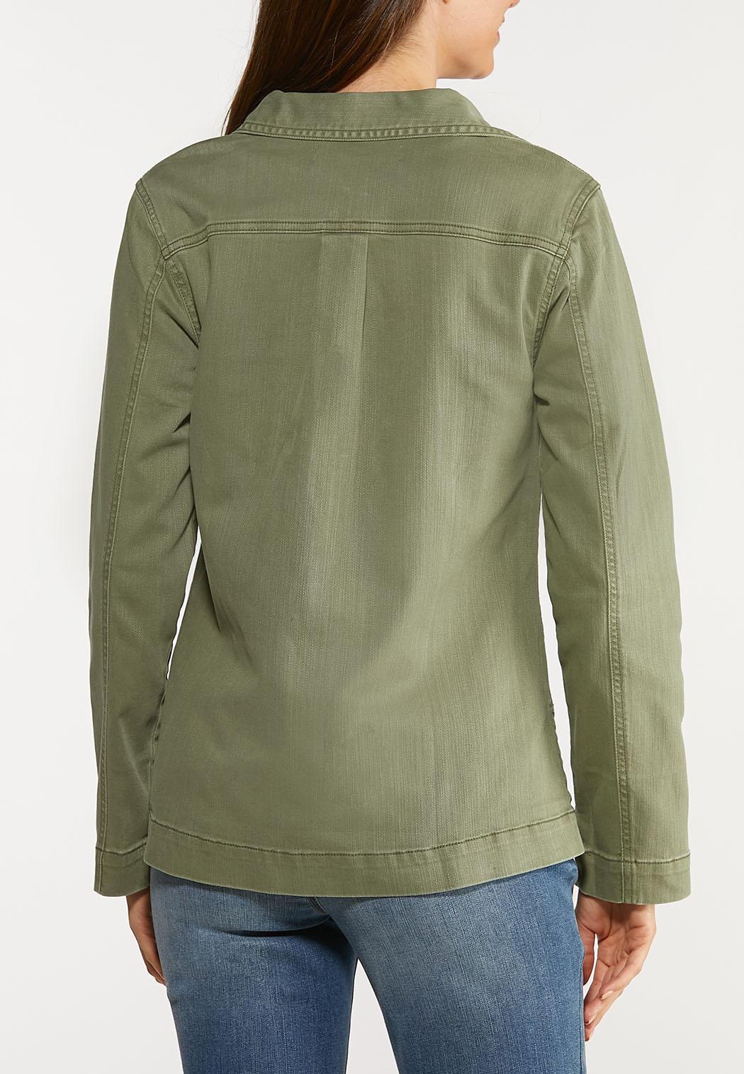 Plus Size Utility Jacket (Item #44079416)