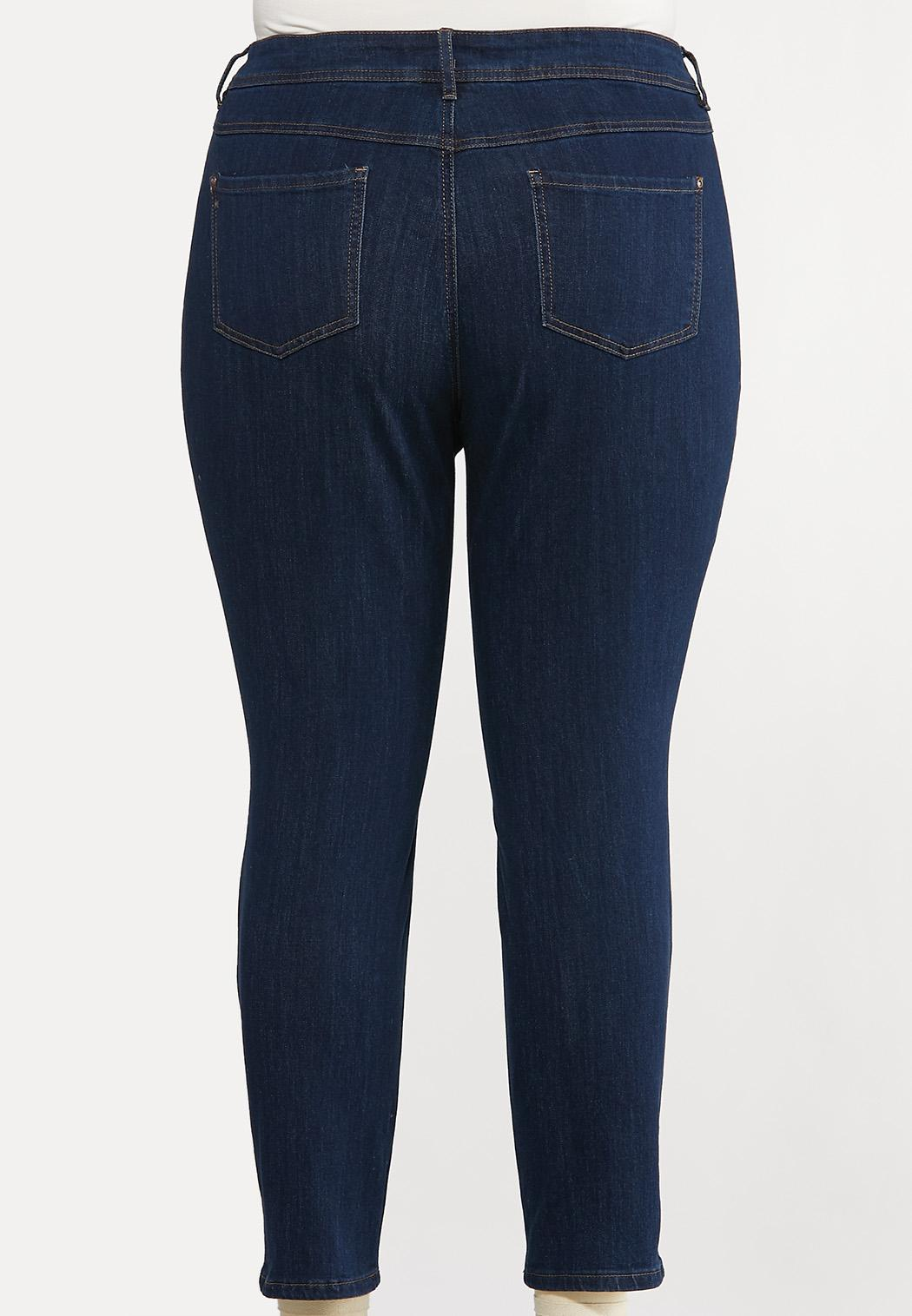 Plus Extended Curvy Skinny Jeans (Item #44079501)