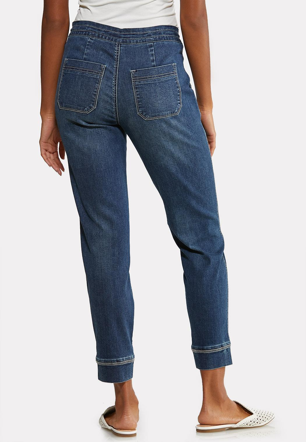 Dark Wash Jogger Jeans (Item #44084170)