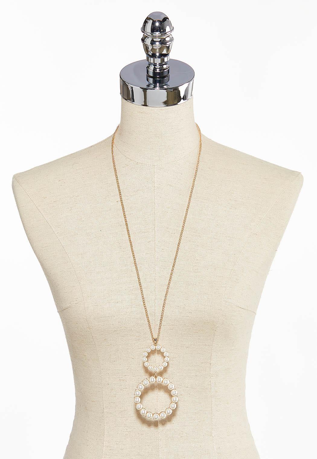 Pearl Pendant Necklace  (Item #44084219)