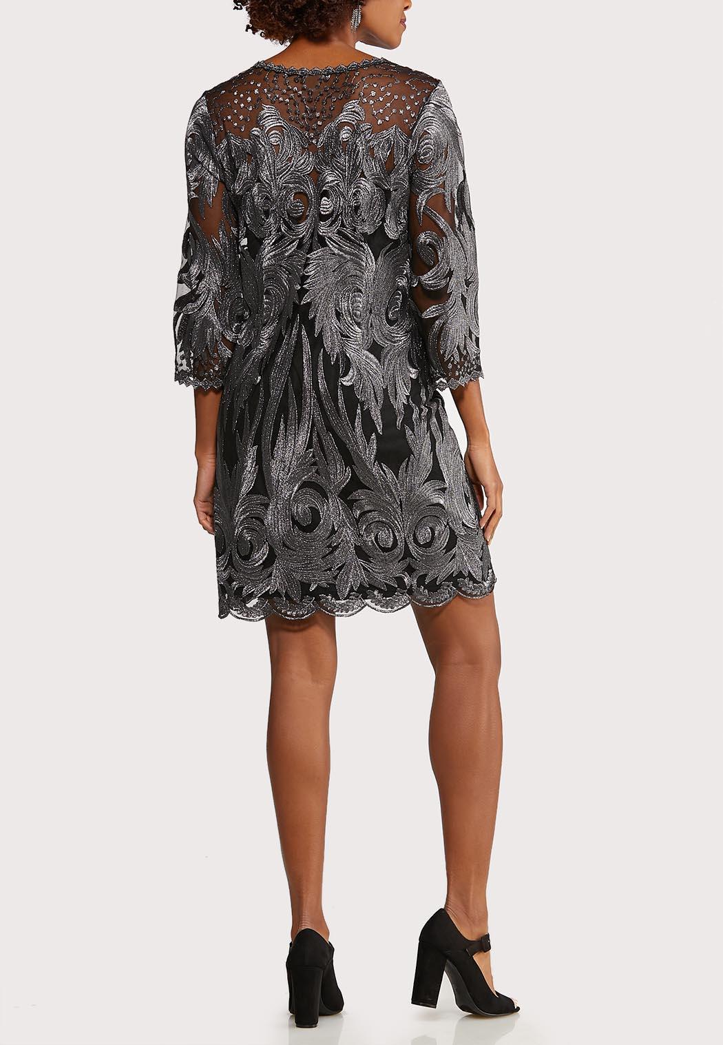 Shimmer Lace Sheath Dress (Item #44084324)