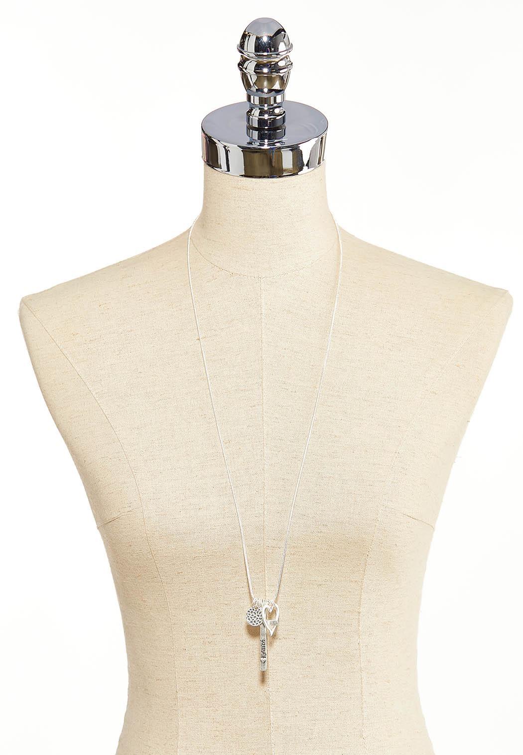 Faith Multi Charm Necklace (Item #44085966)