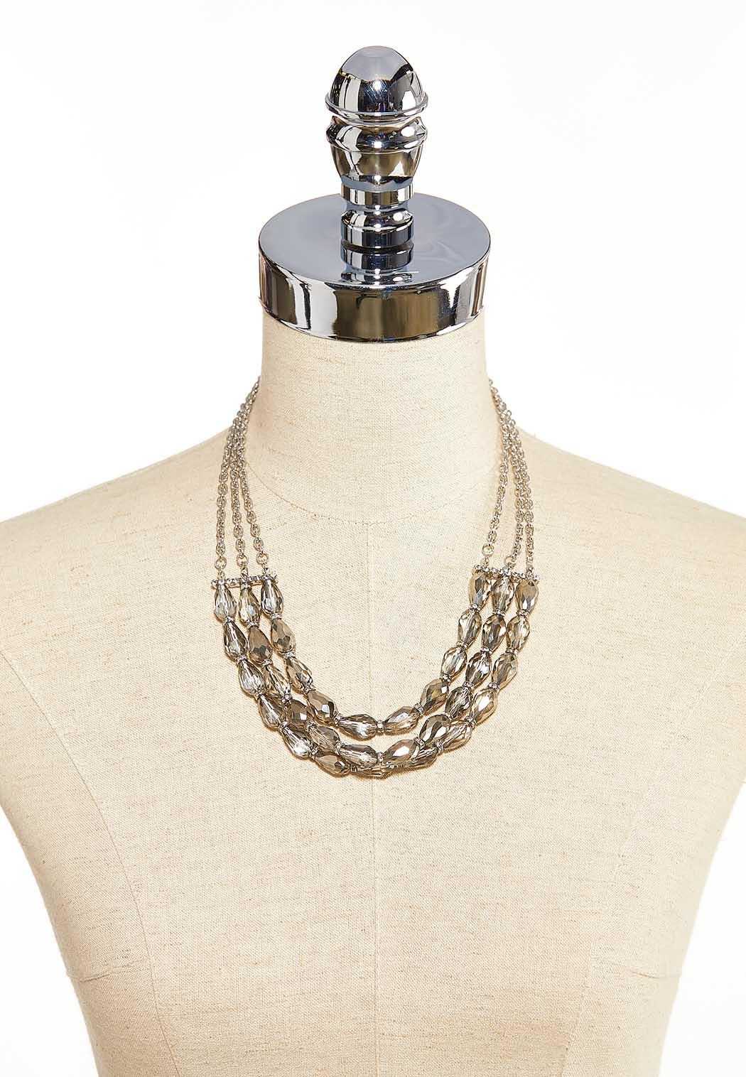 Layered Glass Necklace (Item #44086439)