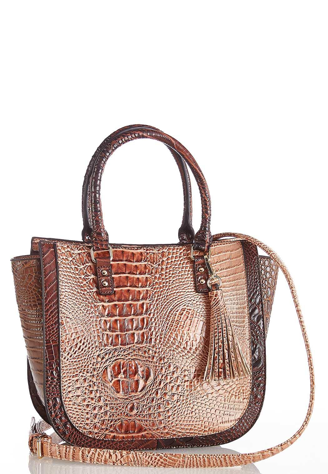 Multi Tone Cros Satchel (Item #44086522)