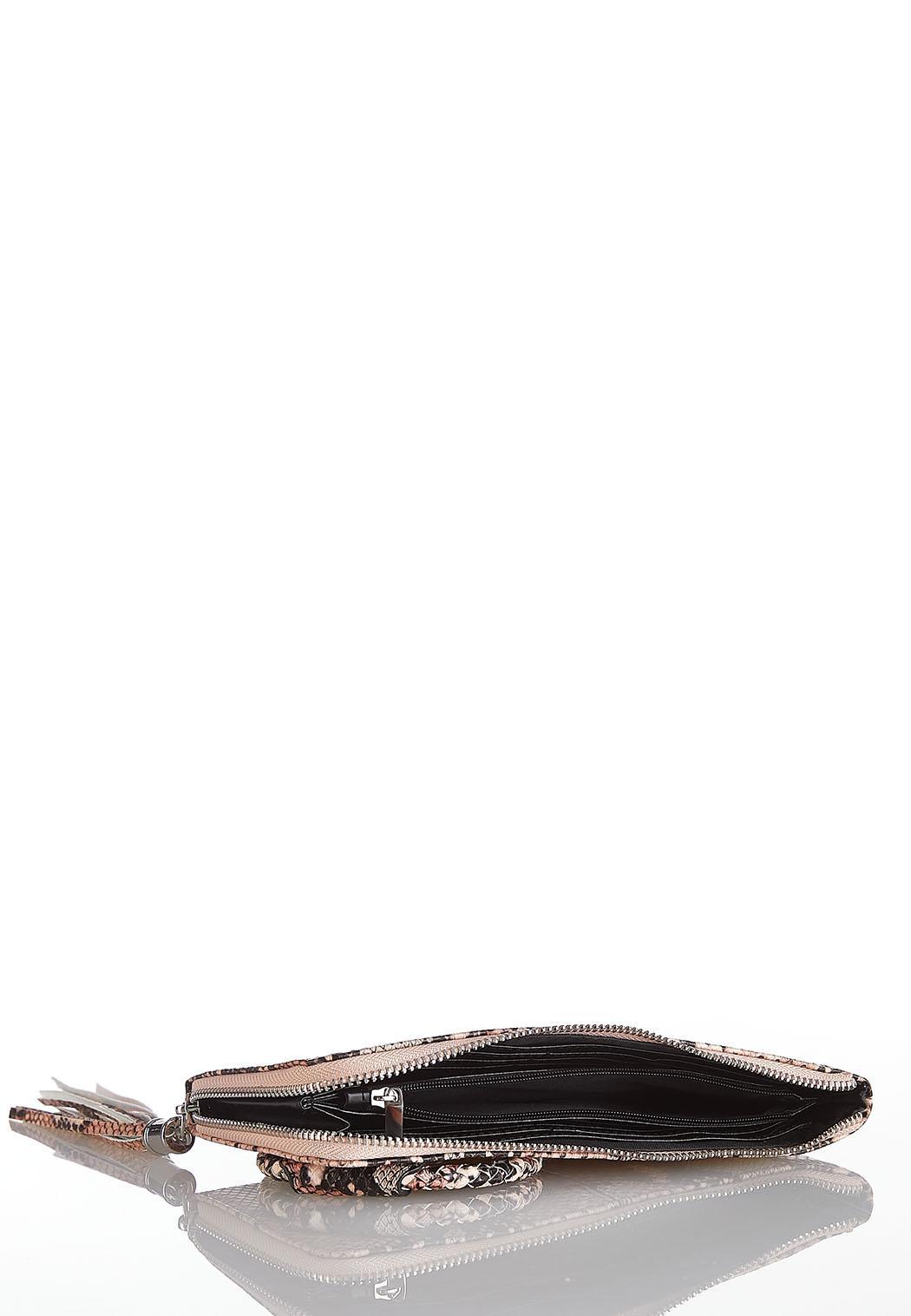 Snakeskin Wristlet Wallet (Item #44086920)