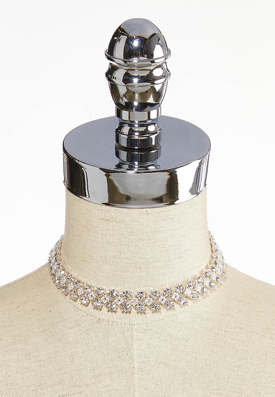 Rhinestone Collar Necklace (Item #44087300)
