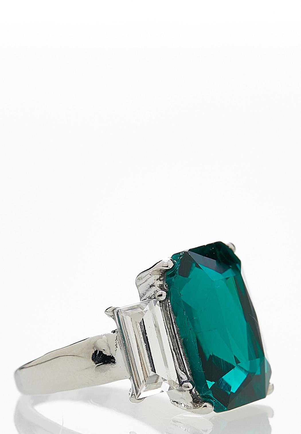 Emerald Cocktail Ring (Item #44087457)