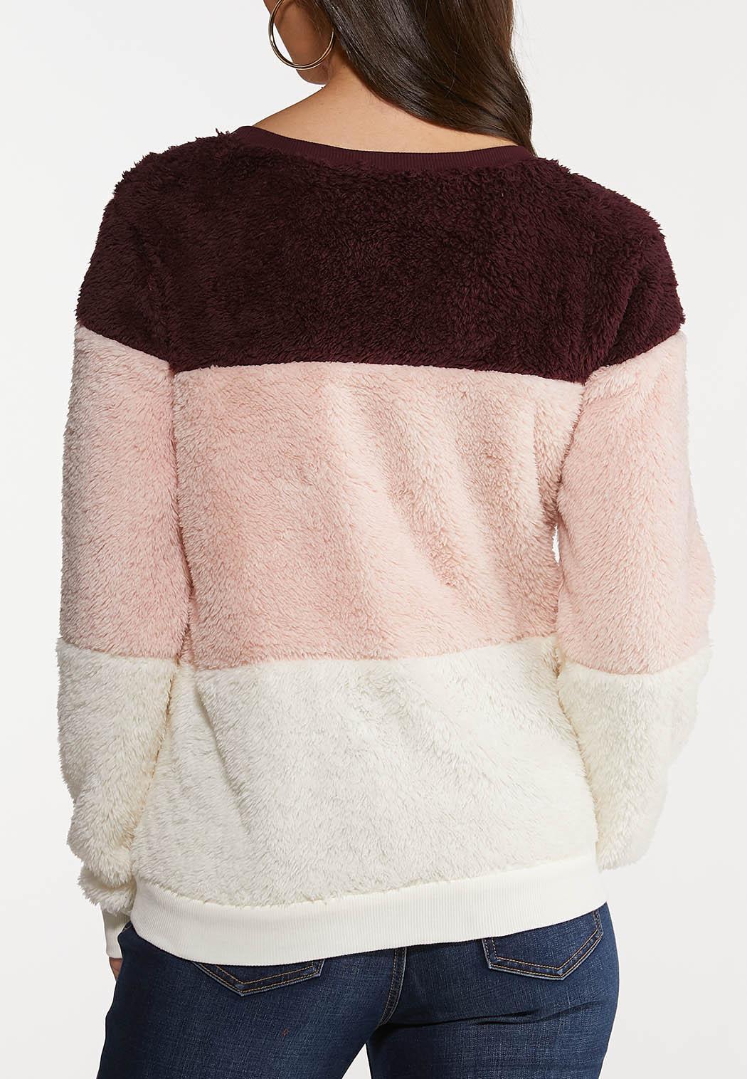 Colorblock Fleece Top (Item #44089108)