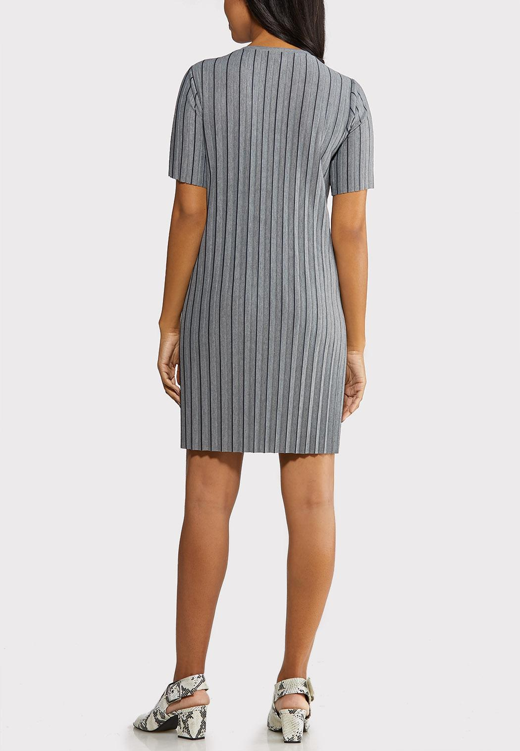 Pleated Shirt Dress (Item #44089494)