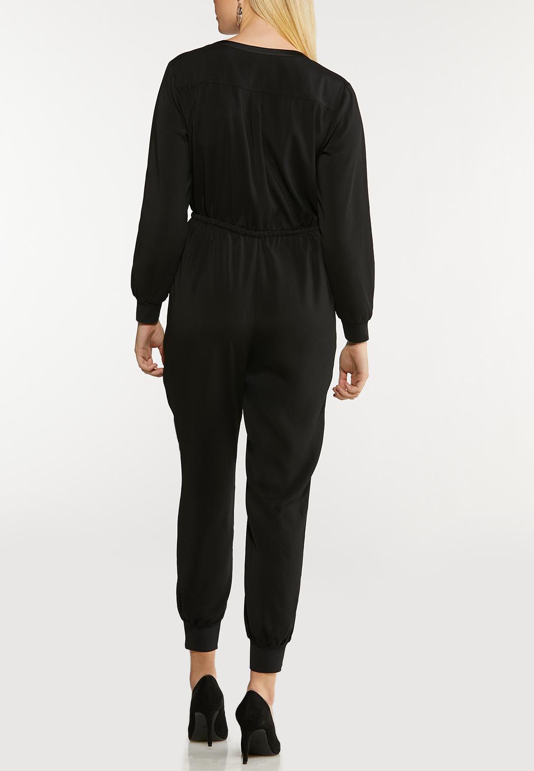 Black Utility Jumpsuit (Item #44091570)