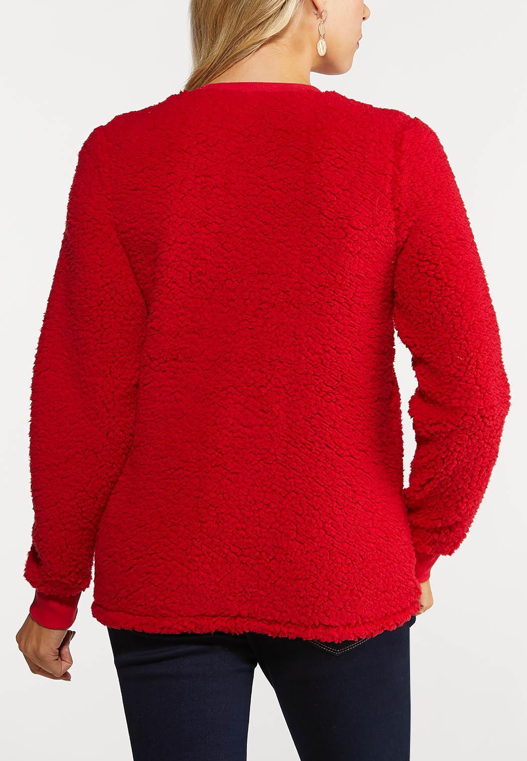 Plus Size Light Up Reindeer Sweatshirt (Item #44091805)