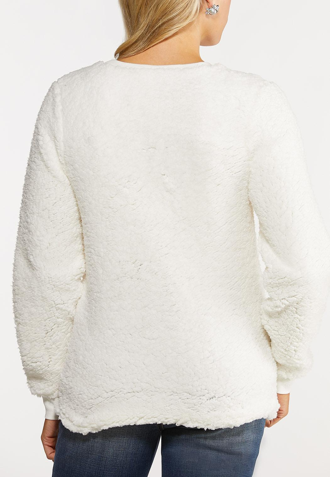 Plus Size Light Up Tree Sweatshirt (Item #44091828)