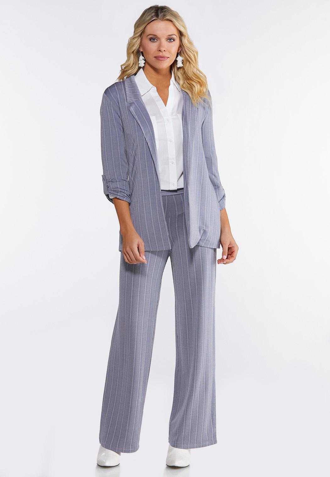 Petite Stripe Knit Pants (Item #44092273)