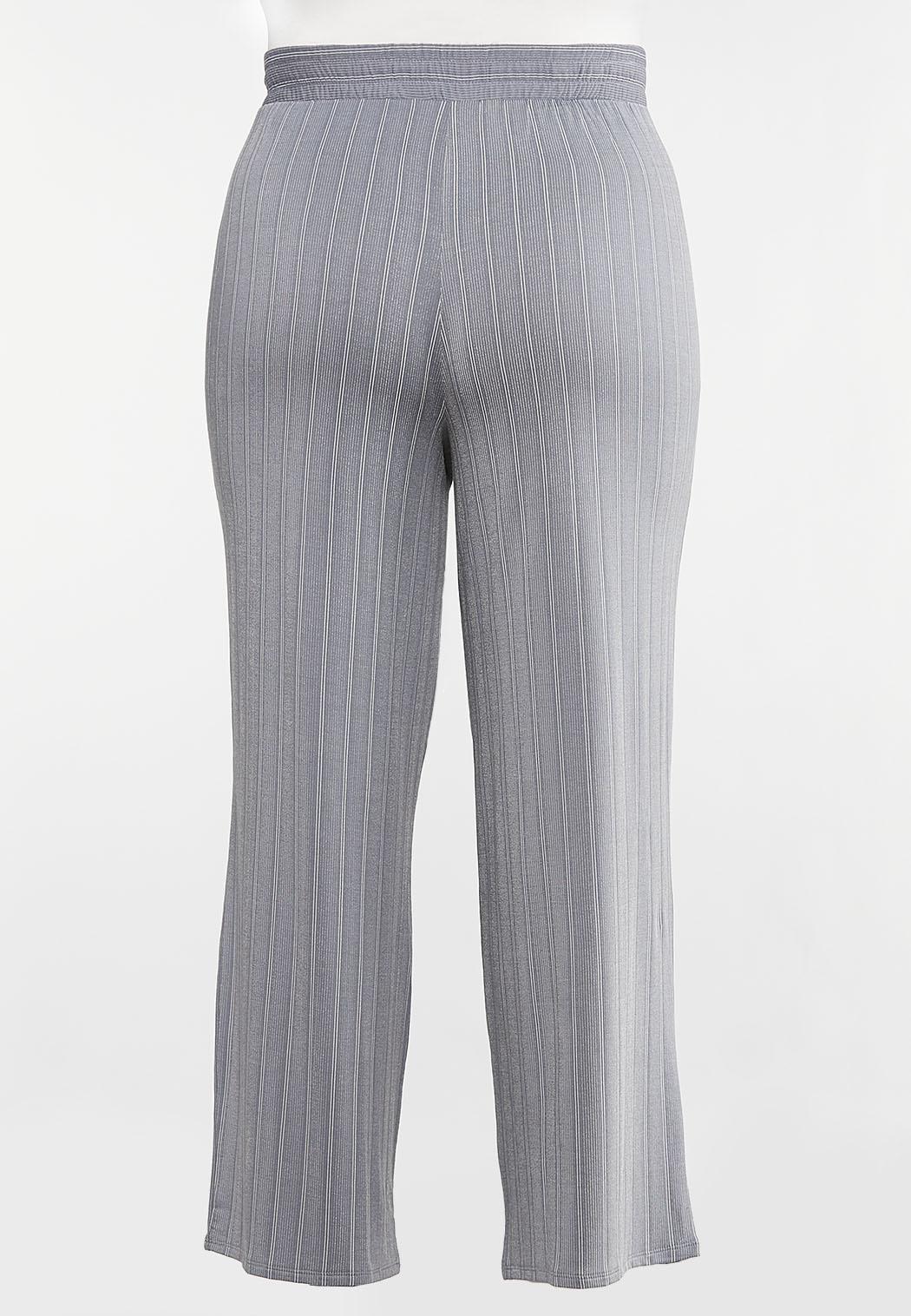 Plus Petite Stripe Knit Pants (Item #44092287)