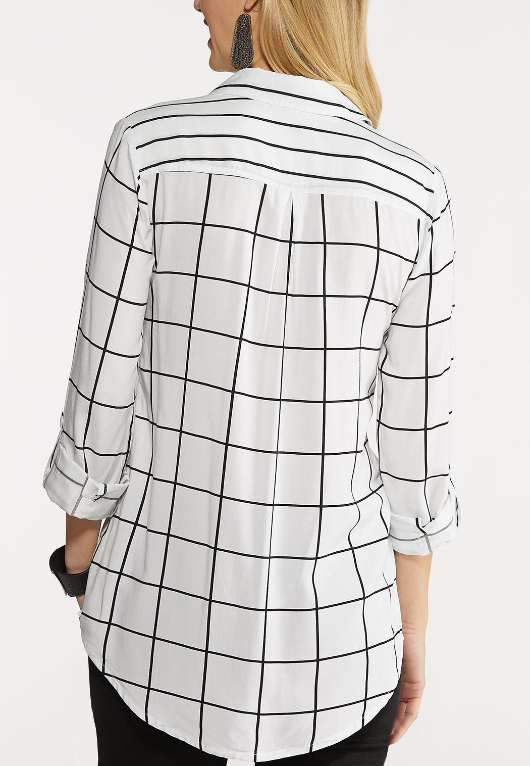Plus Size Mixed Stripe Tunic (Item #44092725)