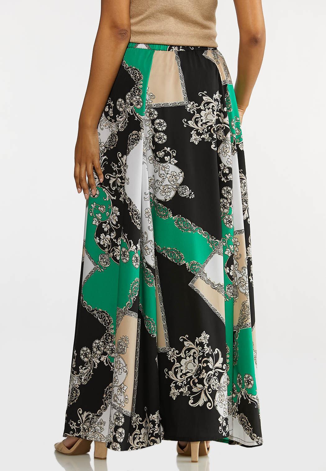 Status Print Maxi Skirt (Item #44094712)