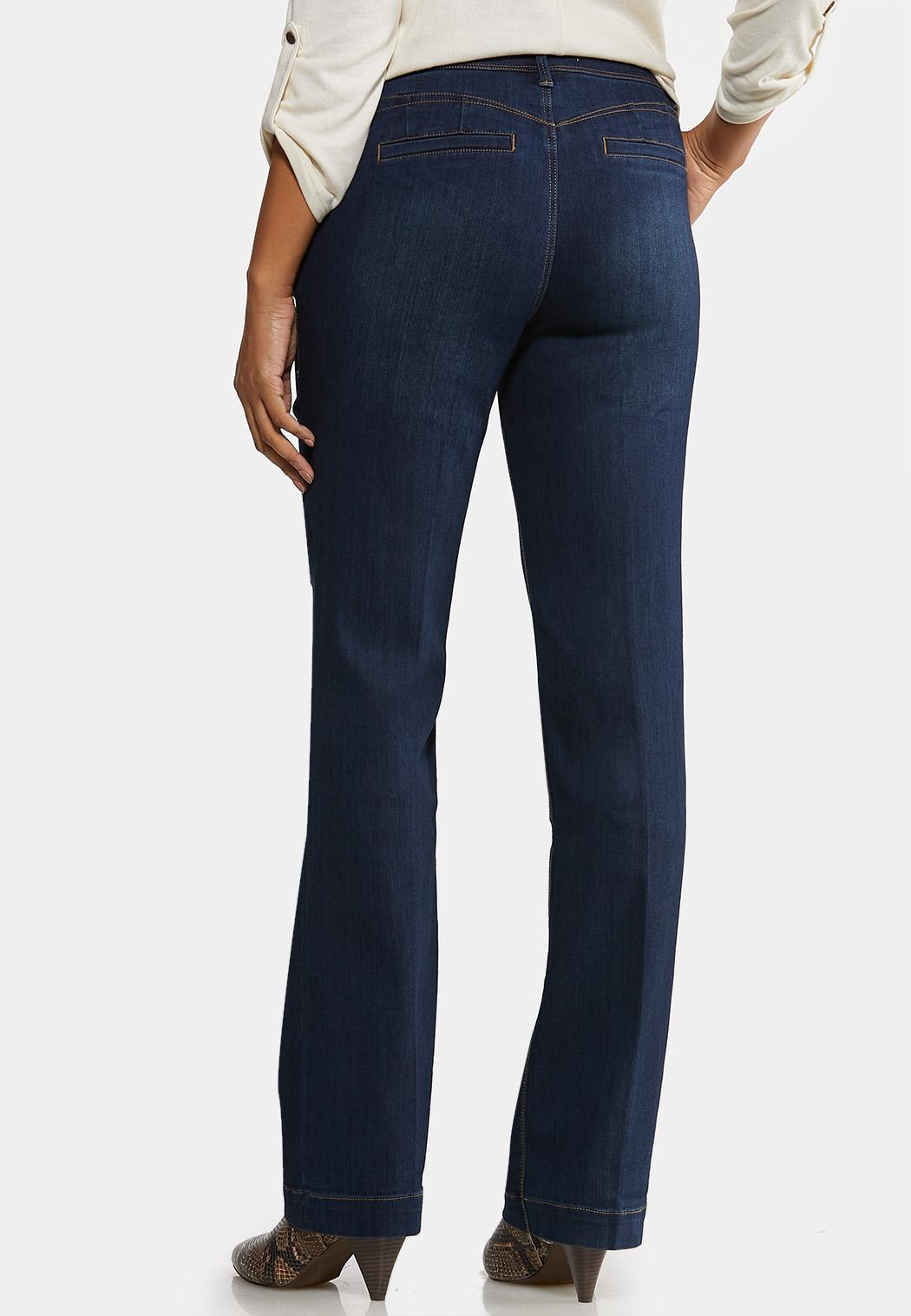Dark Wash Bootcut Jeans (Item #44095641)