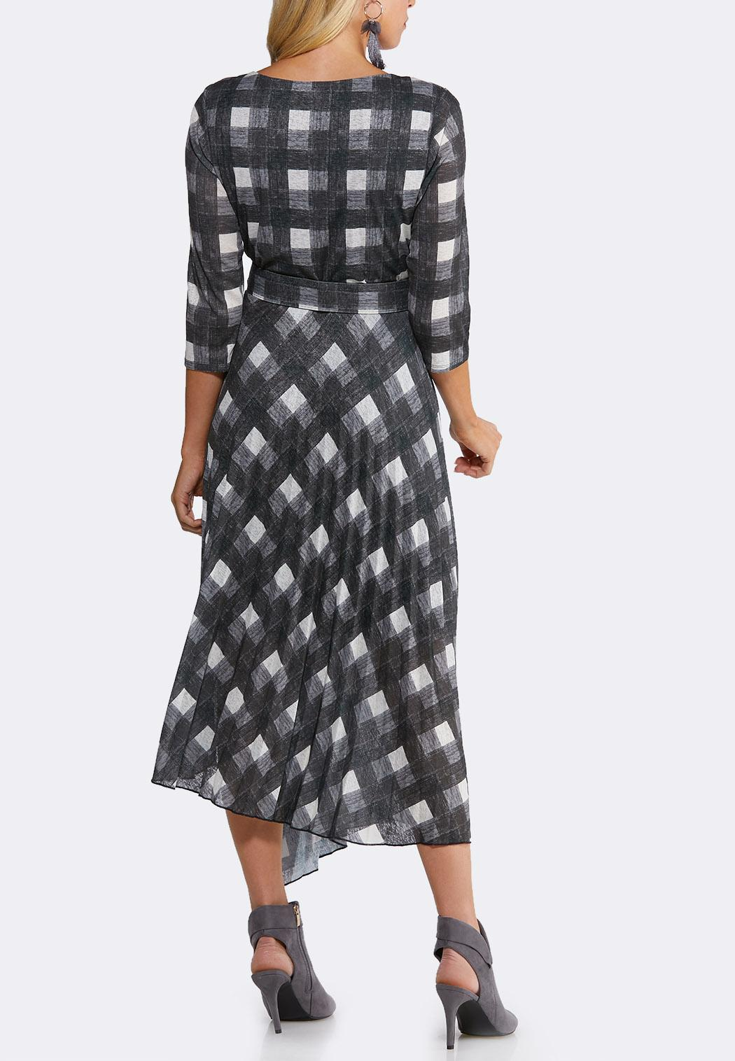 Plaid Belted Dress (Item #44095932)