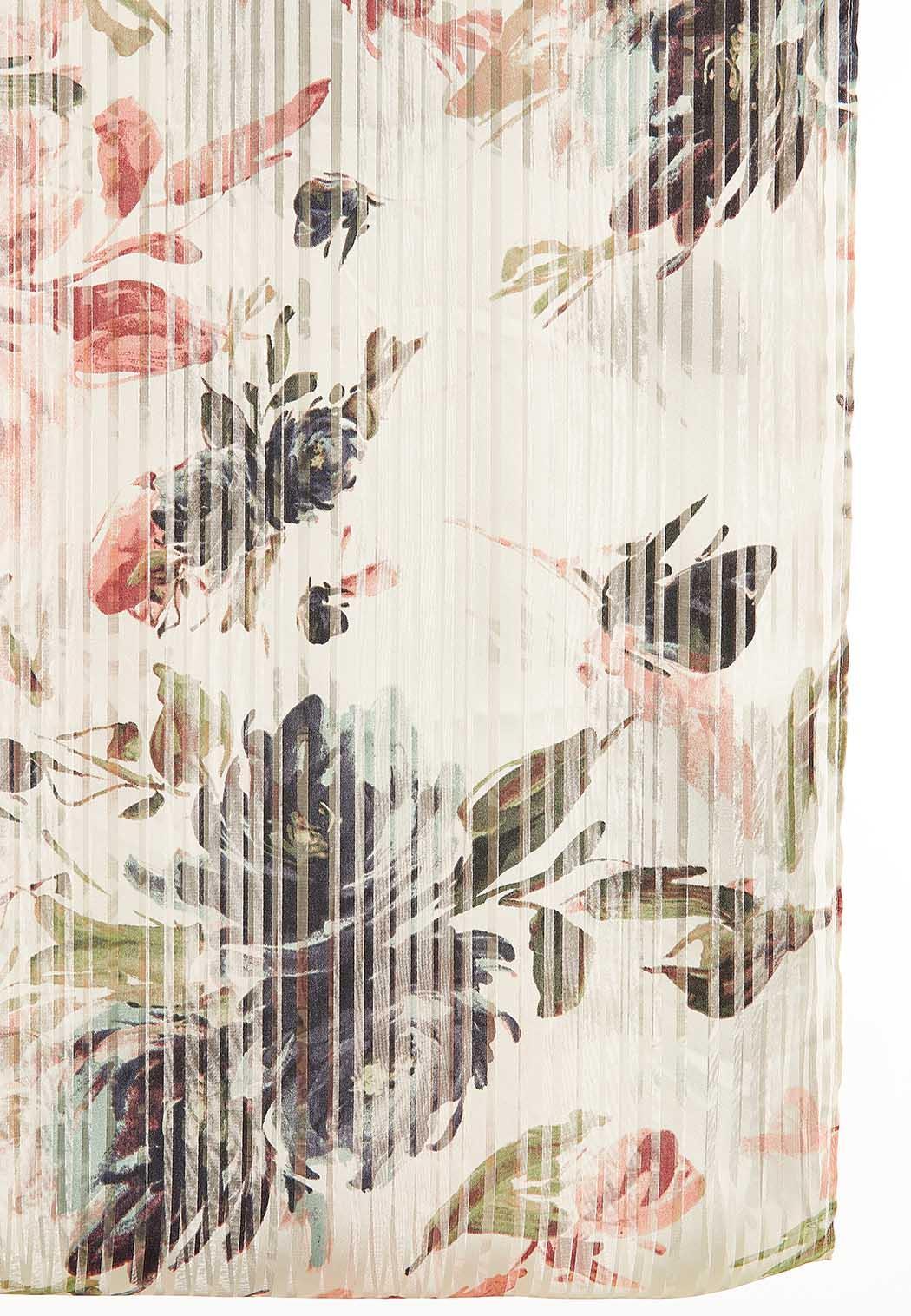 Floral Shadow Stripe Infinity Scarf (Item #44095969)