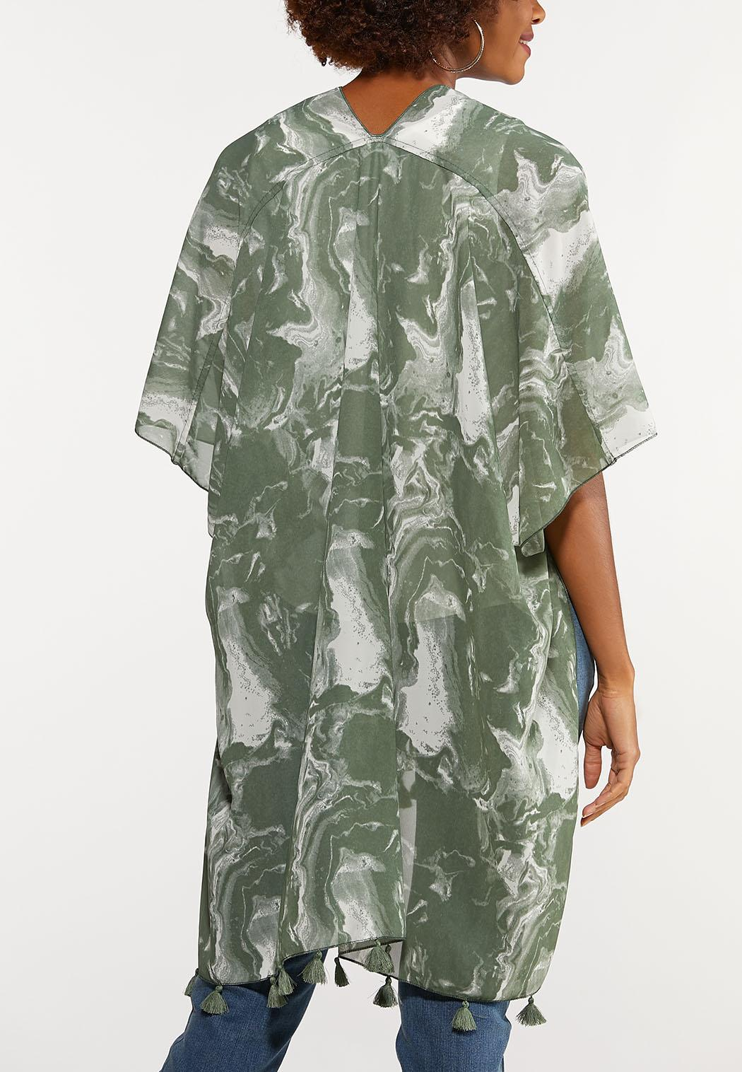 Marble Tasseled Kimono (Item #44096017)