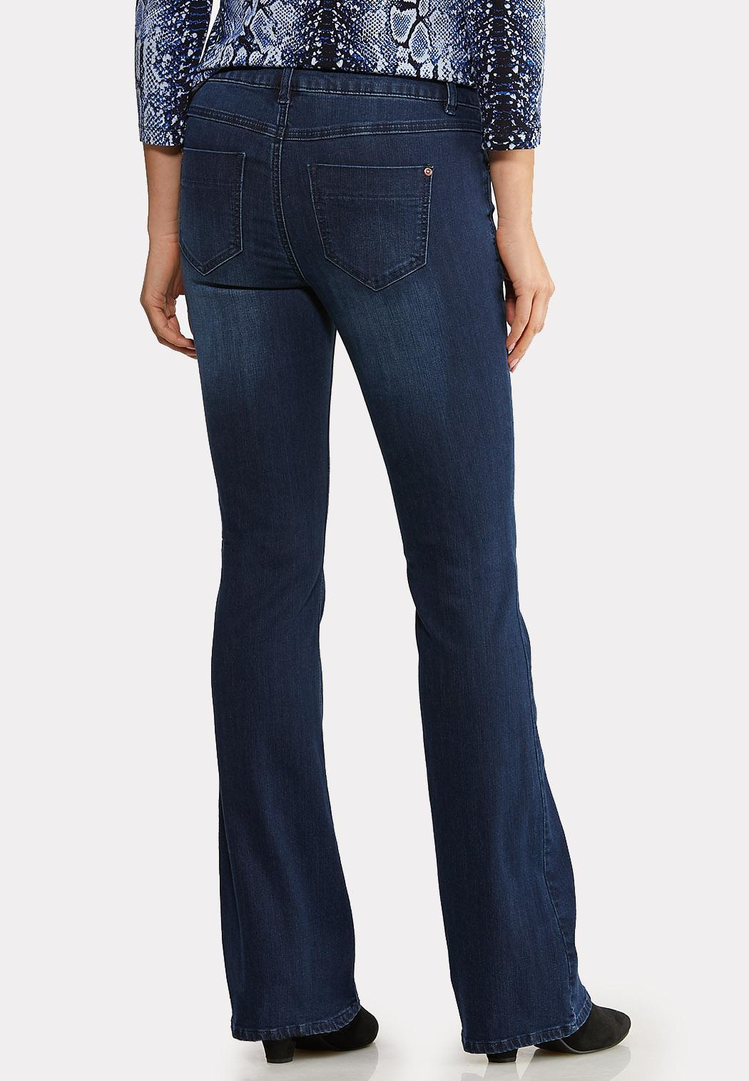 Dark Wash Flare Jeans (Item #44096503)