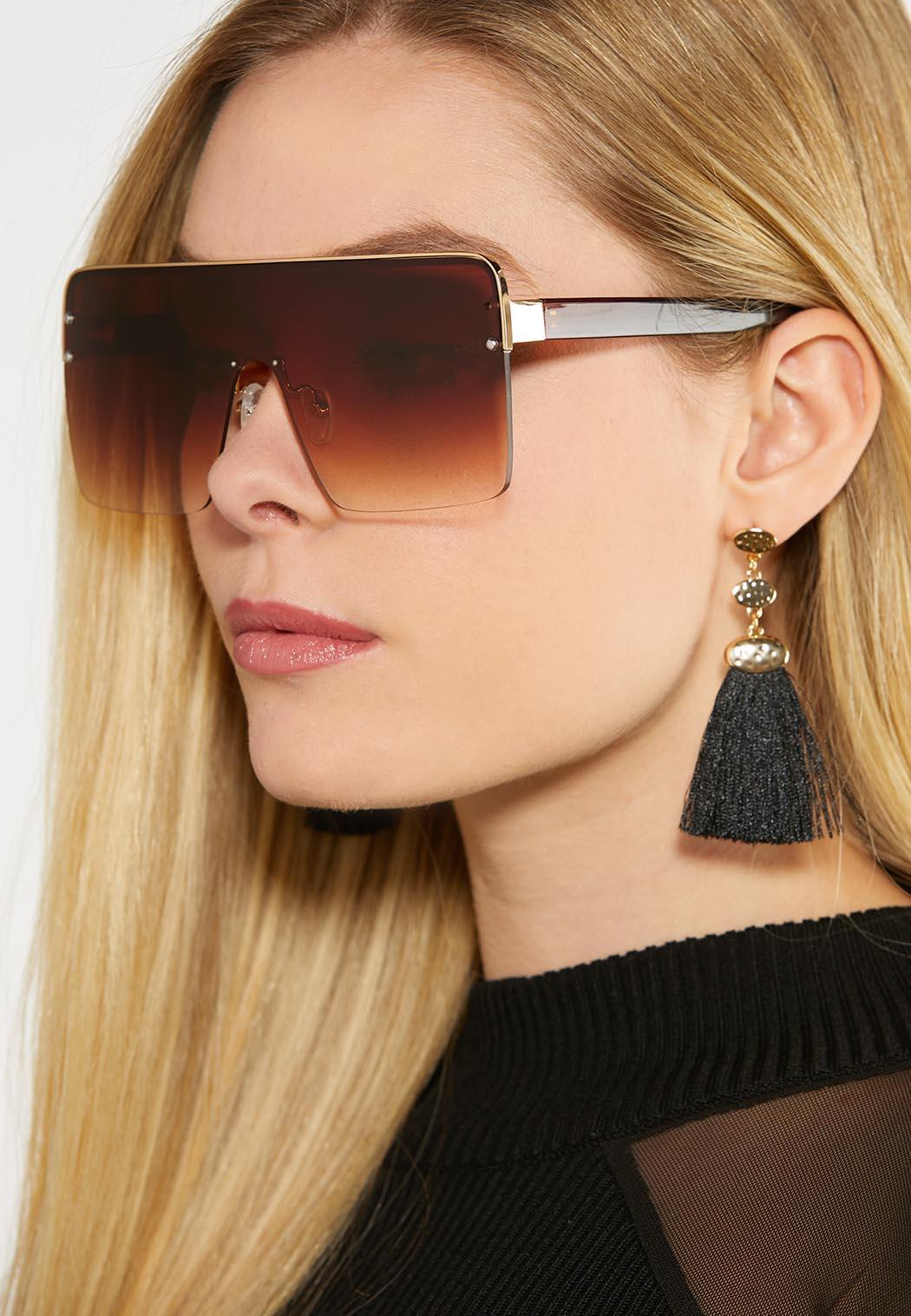 Ombre Shield Sunglasses (Item #44097484)